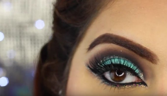 #lovelieriehalloffame: Makeupby A.J's Double Glittery Cut Crease Tutorial