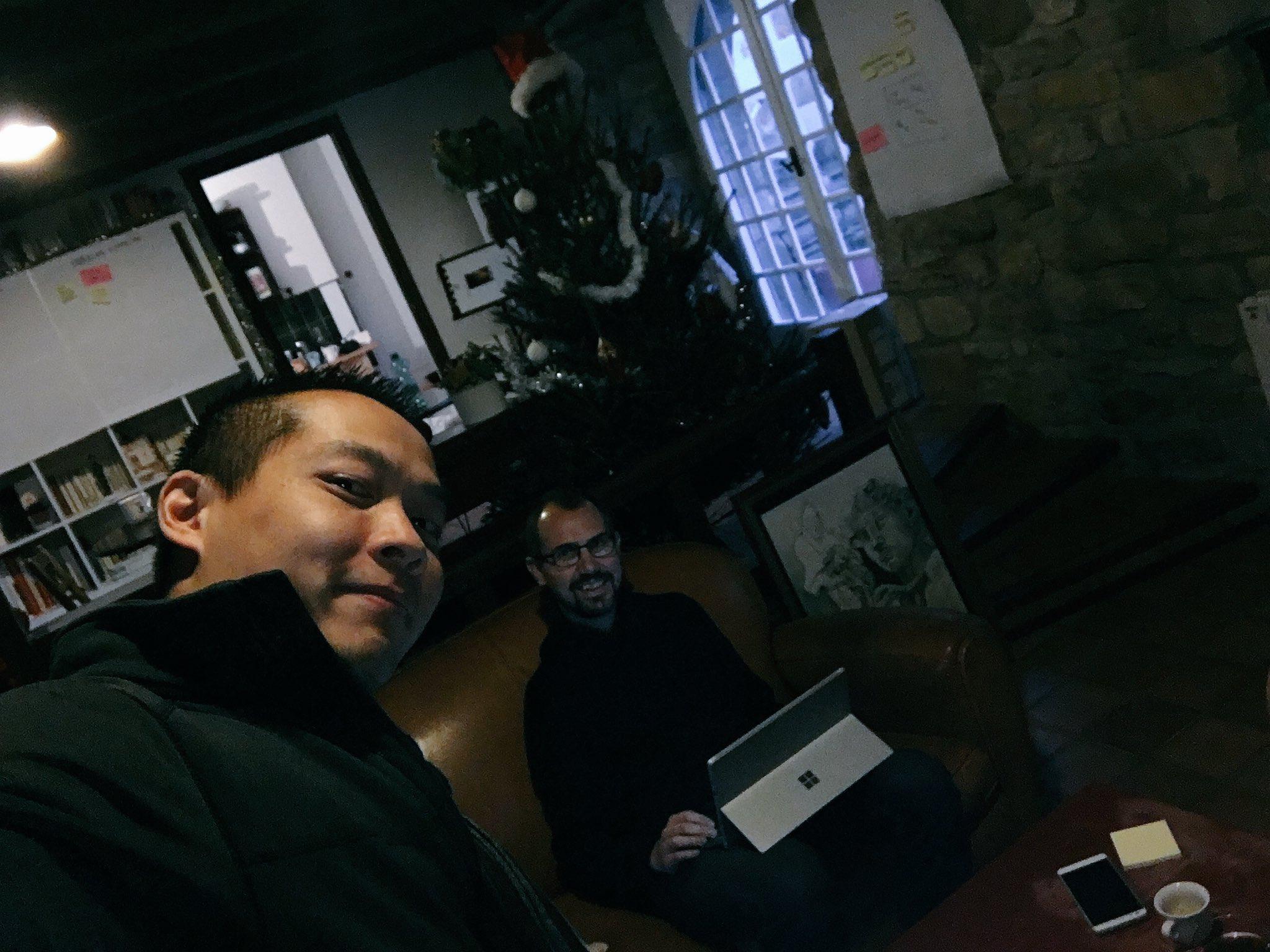Discutons de Management Agile avec @arnaud_gervais #boooksprint https://t.co/vzuoKnxEku