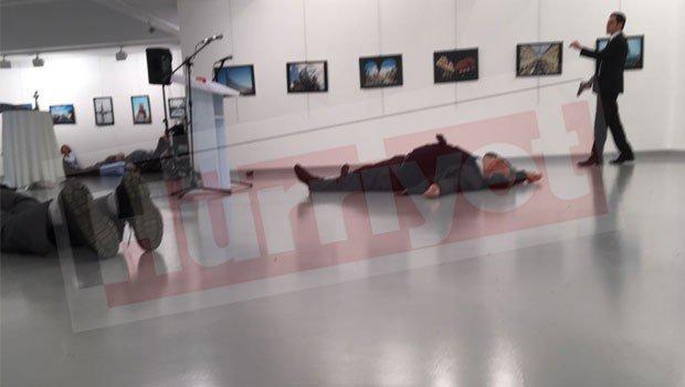 Посол России в Турции был тяжело ранен в Анкаре