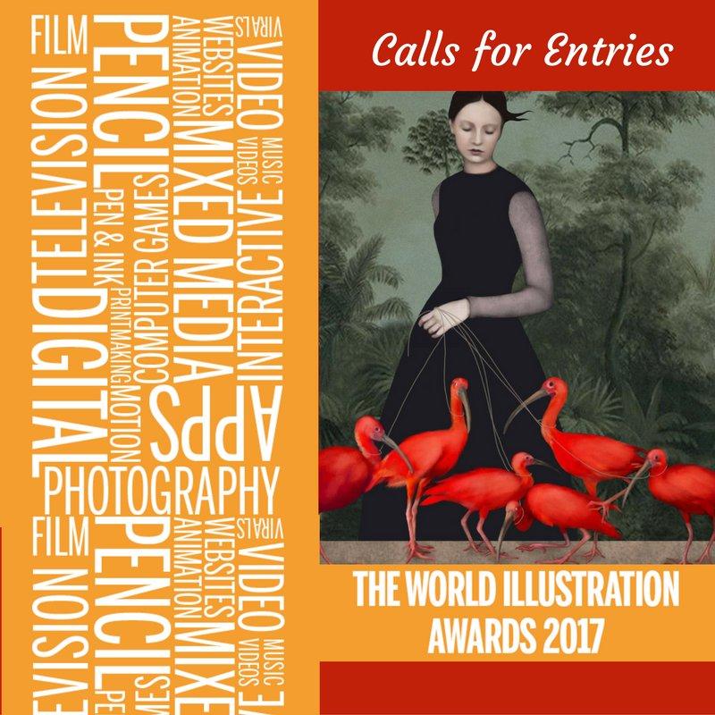 World Illustration Awards 2017 - DEADLINE FEBRUARY 06, 2017 https://t.co/hYjtdPXkqO https://t.co/a49tPGofJz