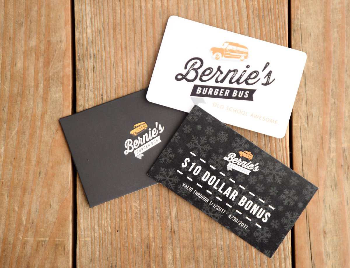Bernies burger bus on twitter hey procrastinators we got your 10 bonus card with every 50 worth of gift cards purchased bellaire katytx httpstpvute0vlfc colourmoves