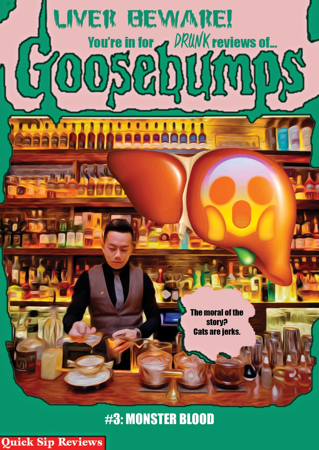 Which, FYI, my drunken review of Goosebumps #3: Monster Blood, will kick off the 2017 series. Here's a peek! https://t.co/V6bYnTU2x5