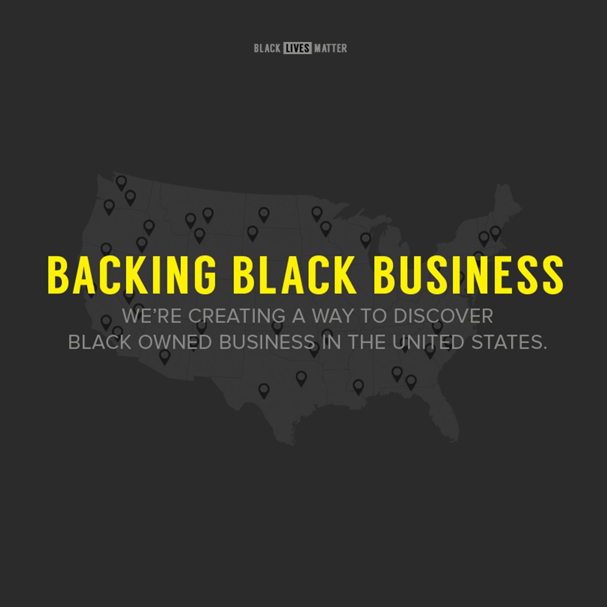 Proud to begin our partnership with @Blklivesmatter with the launch of #BackingBlackBusiness https://t.co/yyTgKatpAj https://t.co/9GXCOG053h