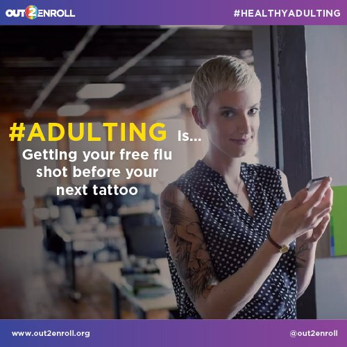A1: Because you can't afford to get sick! And health insurance covers things you need, like free flu shots #healthyadulting #MillennialMon https://t.co/lD2MEQH0yH