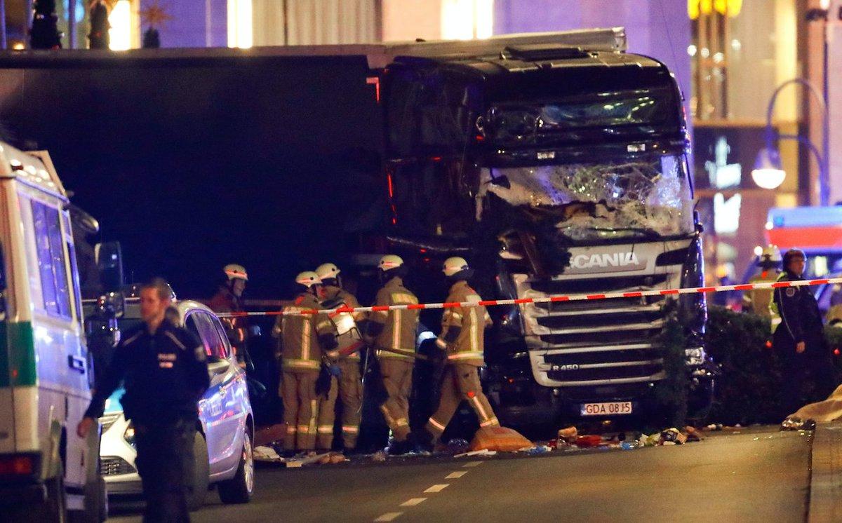 Twelve Dead After Truck Attack On Berlin Christmas Market