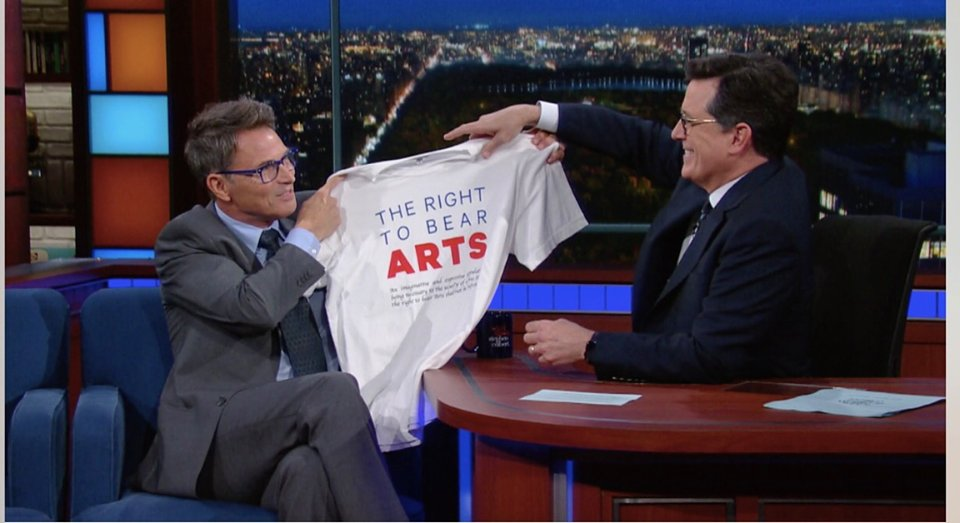 #Righttobeararts T-shirt is available Click here to purchase and support the arts @TimmyDaly https://t.co/4i9jXX9idl https://t.co/s8xKqwdn9Z