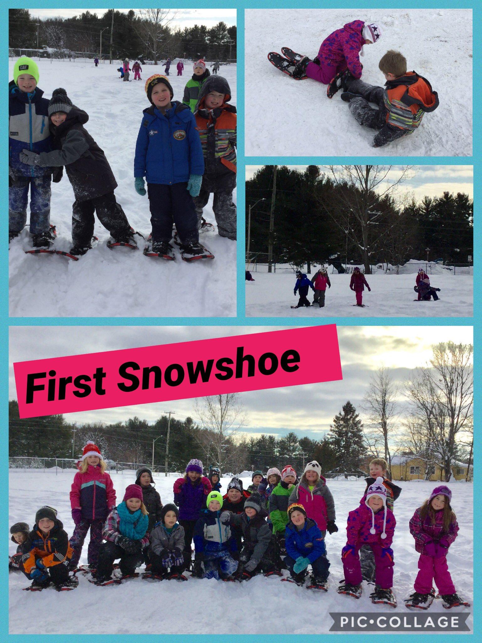 First #Snowshoe of the season! #healthytldsb @tldsb @MacaulayPS @SMHealthySchool #tldsblearns @_PuzzlePeace #feedallfour https://t.co/ZM5RmBgBiN