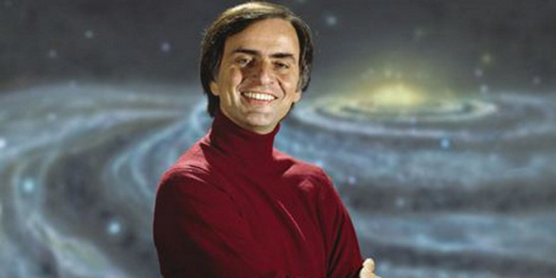 On this day in 1996, Carl Sagan left this world. His message lives on each and every day in those who look up and wonder.