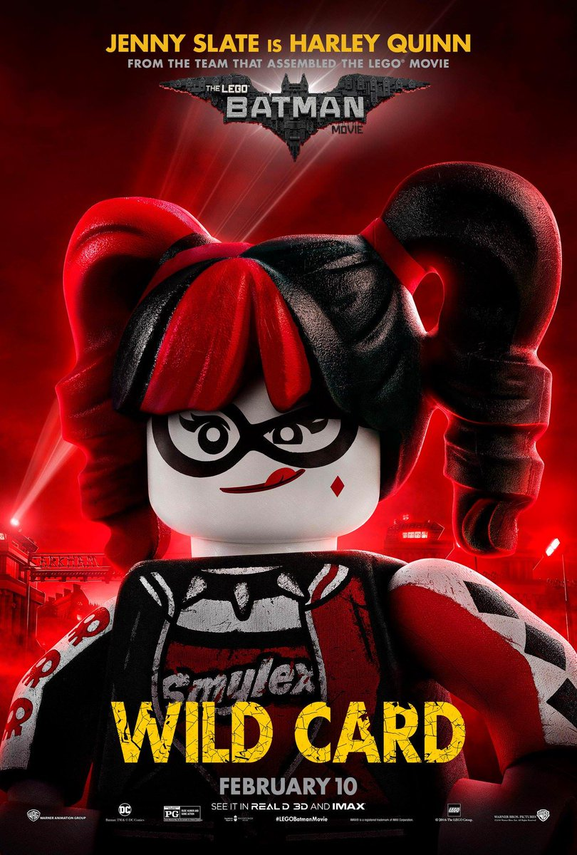 The Lego Batman Movie Character Poster