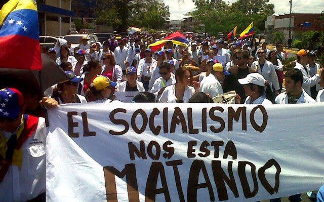 """Sean Perez on Twitter: """"El socialismo nos está matando. Morimos de ..."""