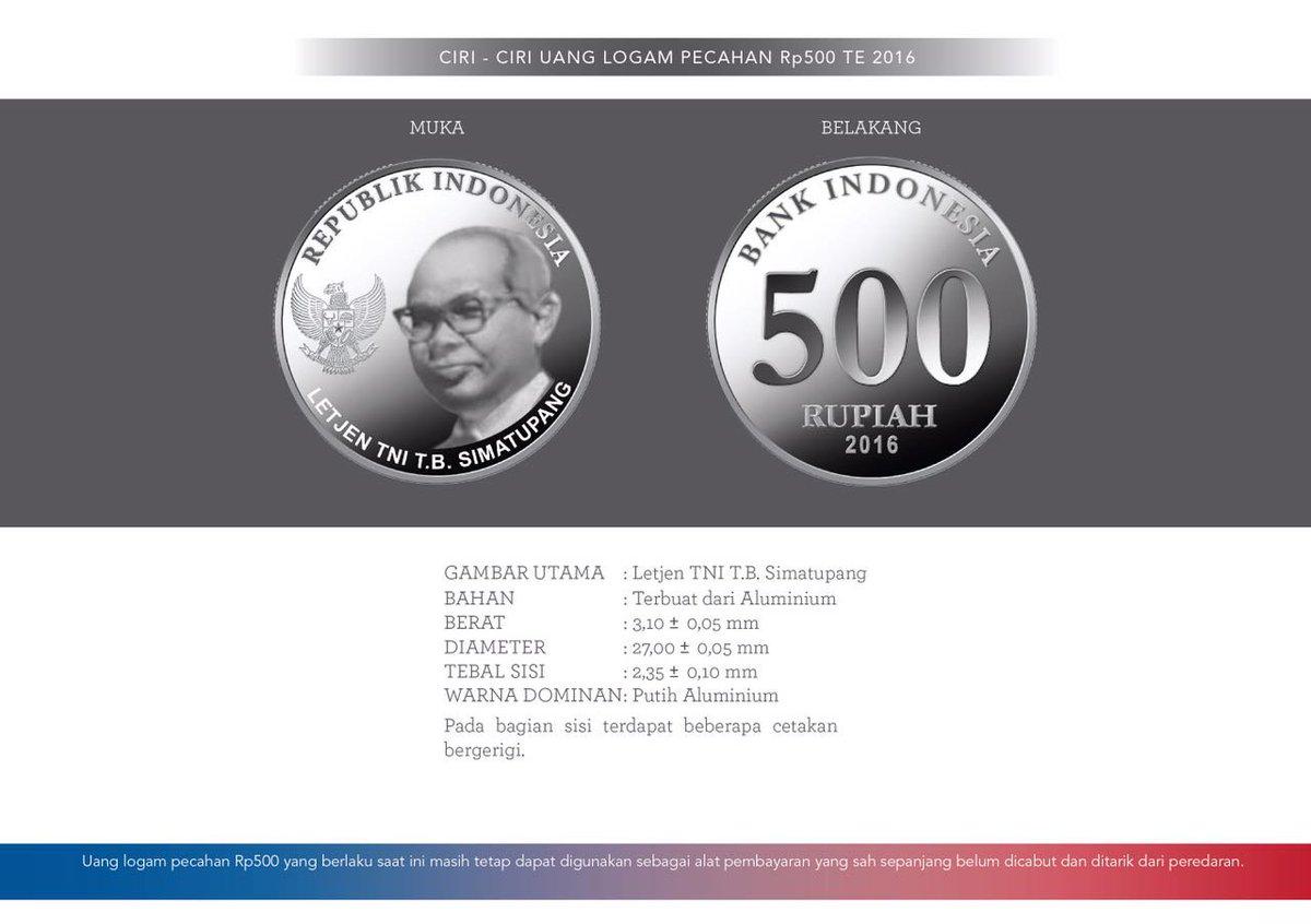 Uang Logam 500 Rupiah - AnekaNews.net