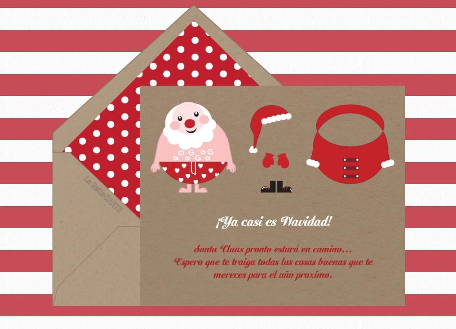 Postales De Navidad Originales De Navidad Originales Graciosas - Tarjeta-de-navidad-original