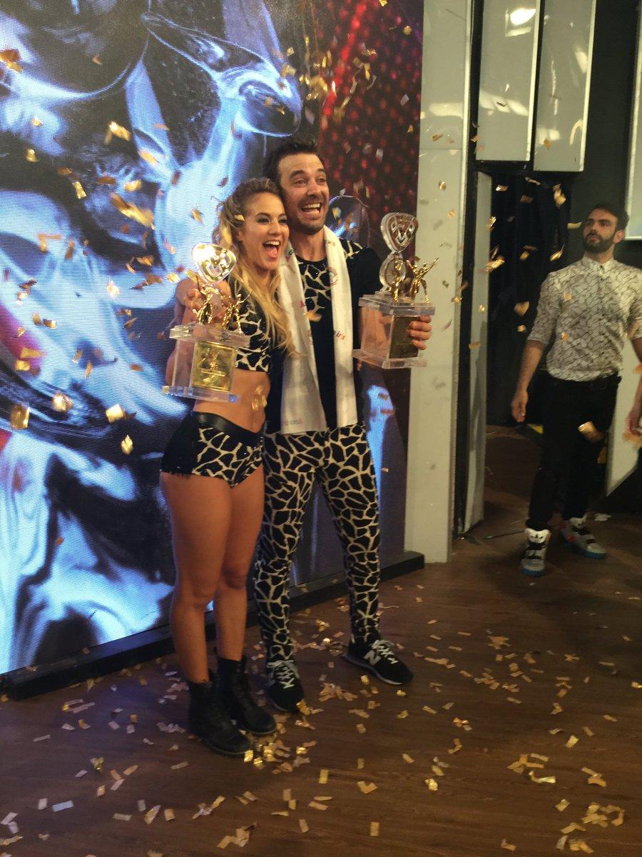 Los campeones @flor_vigna y @pedroalfonsoo