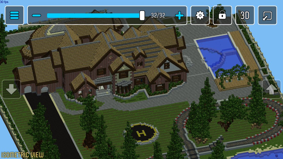 """MCProApp on Twitter: """"Mansion with Racetrack marks 11 blueprints"""