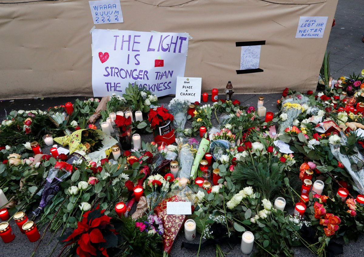 Terrorism Hurts All People Without Distinction People In Germany