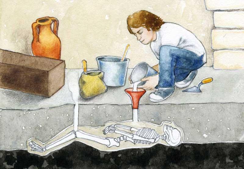 #SabíasQue Giuseppe Fiorelli fue quien ideó el método del moldeado en yeso para los cadáveres encontrados en Pompeya.