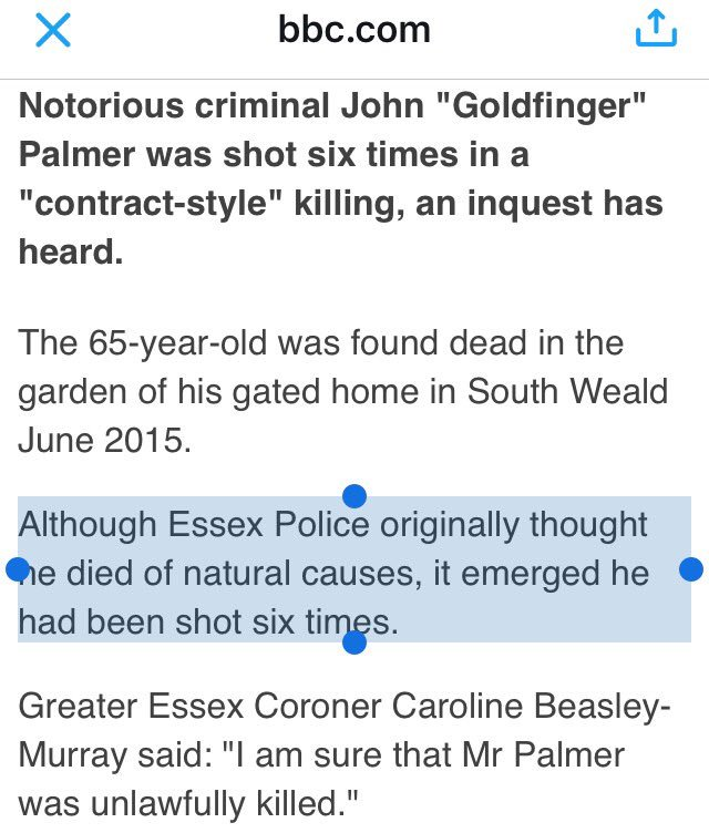 Great investigative work by Essex Police here https://t.co/EWToTCr2mn