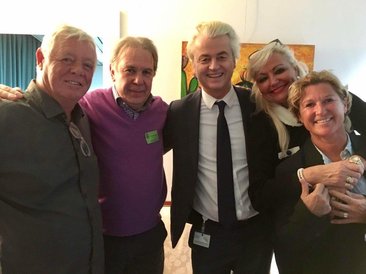 """Geert Wilders on Twitter """"Hoog en leuk bezoek vandaag in de"""