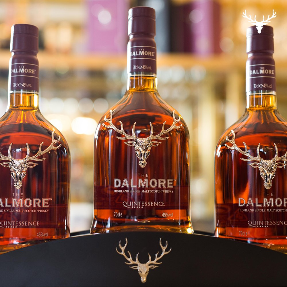 The Dalmore Quintessence is the only whisky in the world with a five wine red wine cask finish. https://t.co/0G0MdCPsC3