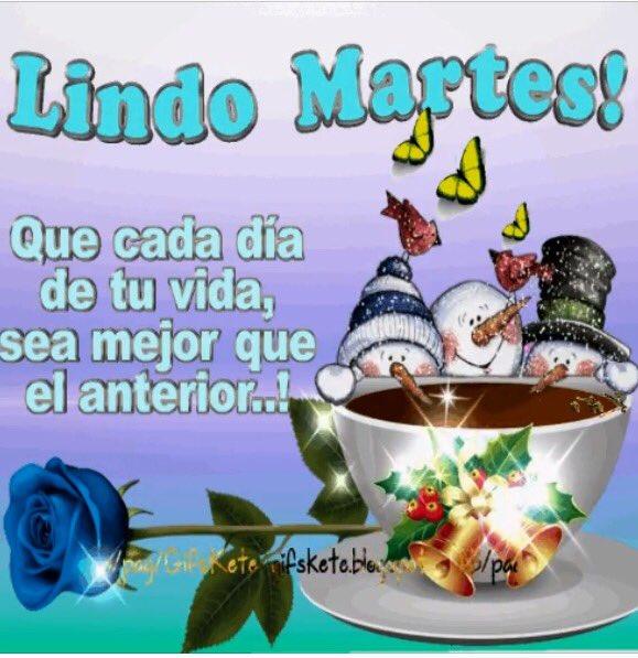 #felizmartes #LAHORACHACHI349  #EspirituDeLaNavidad  #Deseandoles  #infinitos momentos de felicidad y sonrisas #porque la nacida es unión <br>http://pic.twitter.com/kotJ7q1WEz