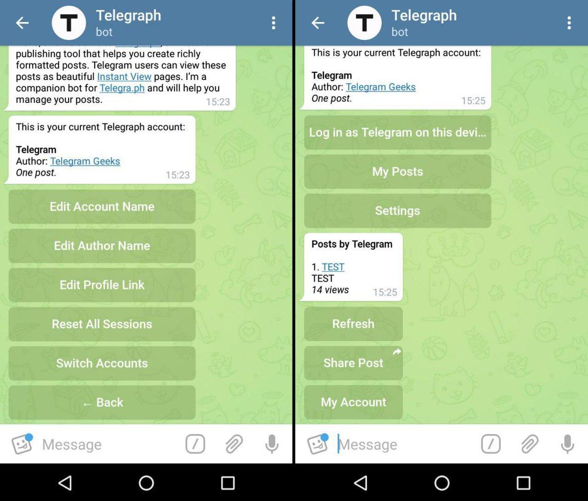 Bots for Telegram (@botstelegram)   Twitter