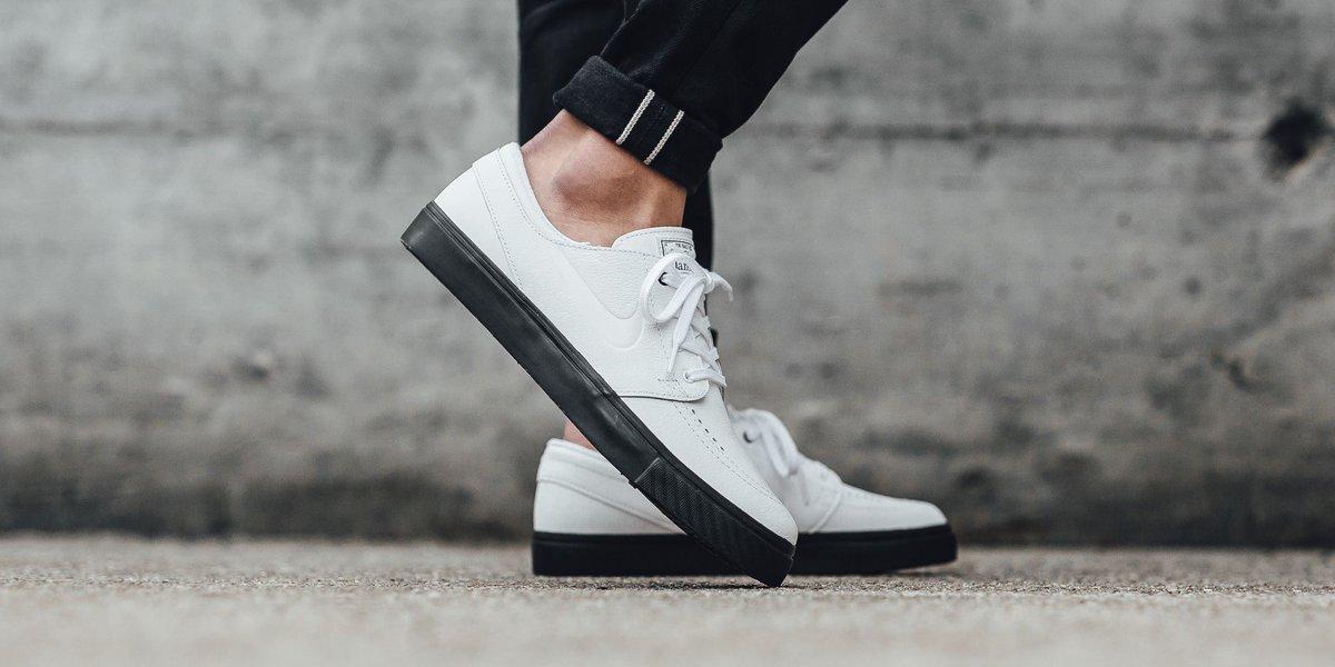 pretty nice d993d df0d8 Nike Sb Zoom Janoski Premium Cpsl - WhiteWhite-White-Black SHOP HERE  httpst.coTaH7FTTYcy…
