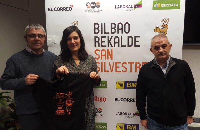 romántico Contando insectos sabor dulce  Bilbao despide 2016 con la tradicional carrera 'Bilbao-Rekalde San  Silvestre'