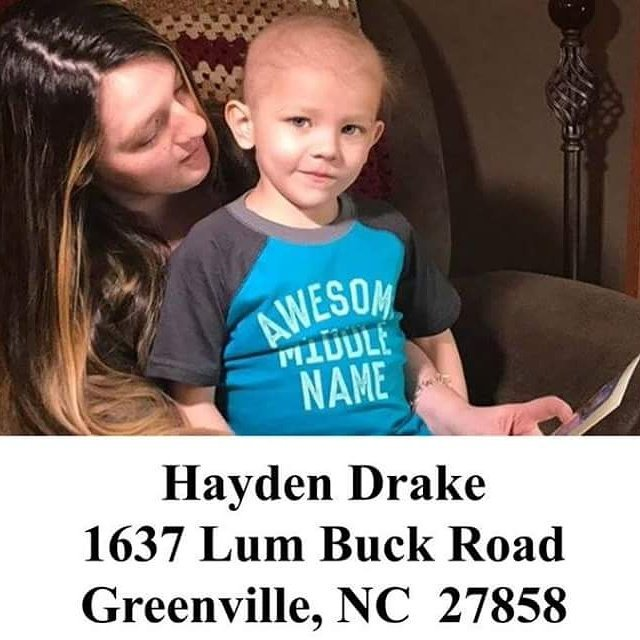 5 year old battling Childhood Cancer and all he wants are Christmas cards   send them out today . Please Retweet https://t.co/V6n6Xou4uF