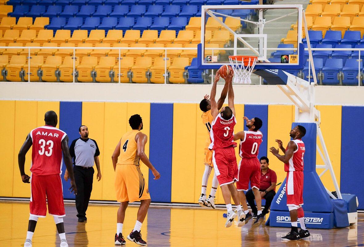 قطر والعربي يواصلان انتصاراتهما في دوري السلة