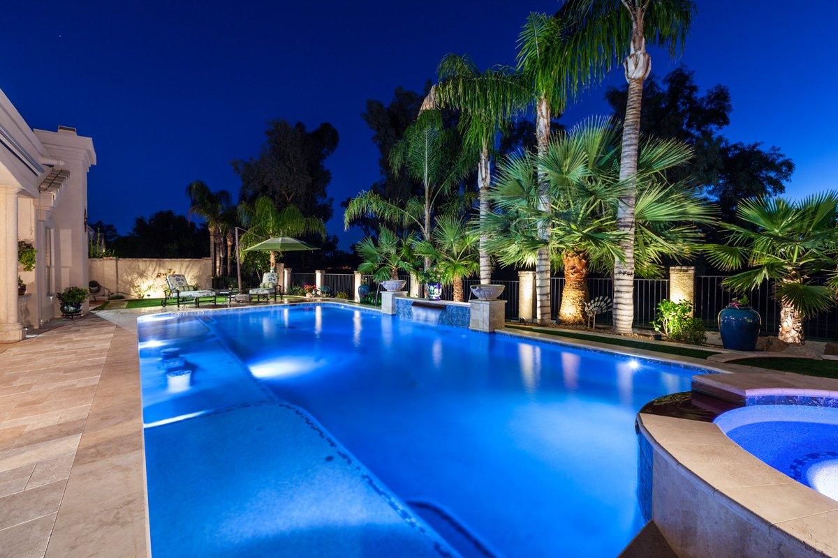 Scottsdaledesignctr scottsdaledesig twitter for Pool design lighting