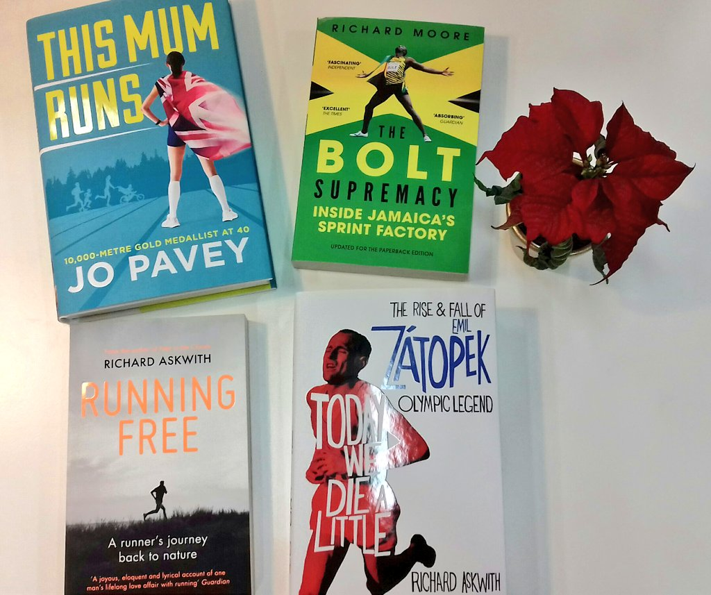 "... @jopavey's autobiography, #Zatopek, @richardaskwith on running w/  nature & @richardmoore73 on Bolt & Jamaica… https://t.co/j6wNdlgOpc"""