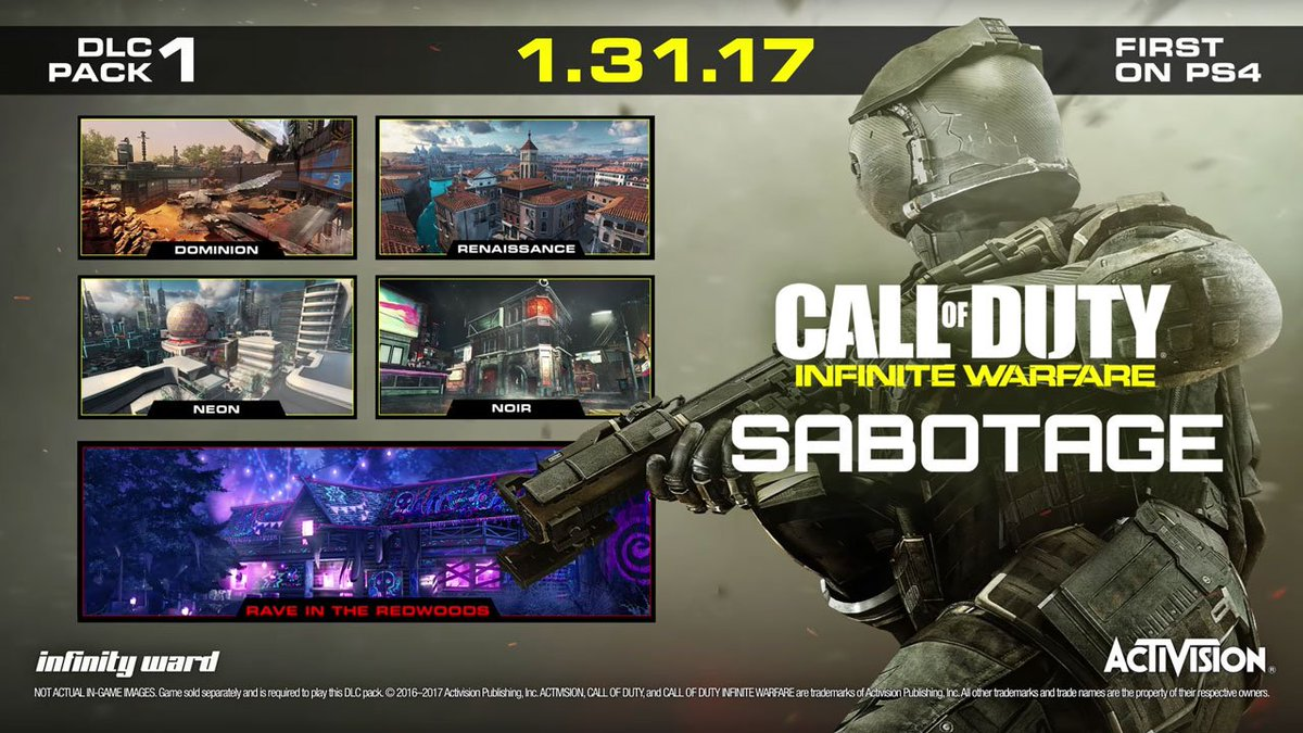Call of Duty: Infinite Warfare Sabotage DLC