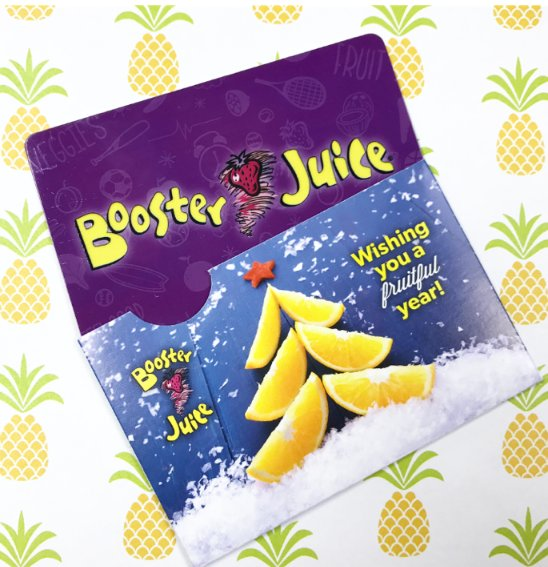 Retweet 4 your chance 2 win one of five $75 #BoosterJuice gift cards! #BoostYourHolidays #HolidaySeason https://t.co/kvOb7PJx8f