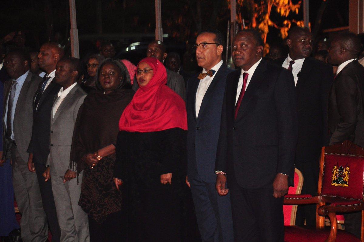 Kenyan Cabinet Secretaries Tourism Kenya On Twitter President Ukenyatta Officially