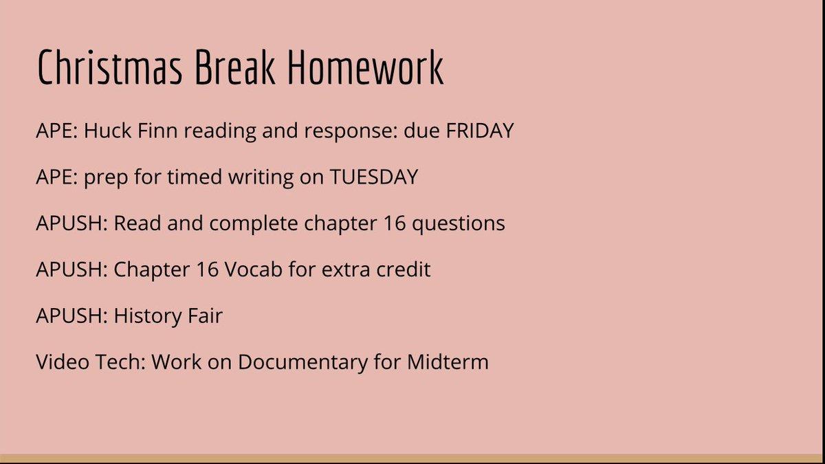 CAHS '18 Homework (@CAHS2018help) | Twitter