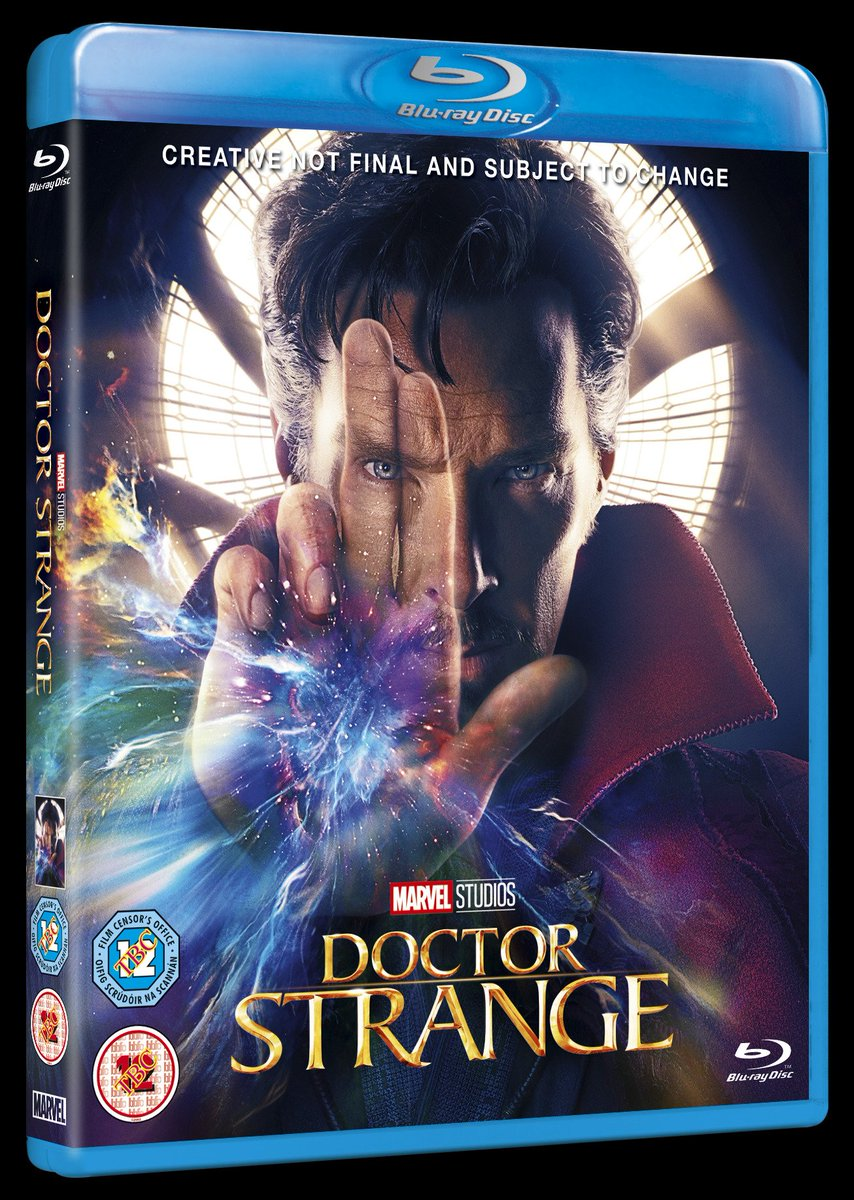Official UK Blu-Ray/DVD Release Date And Cover Art For