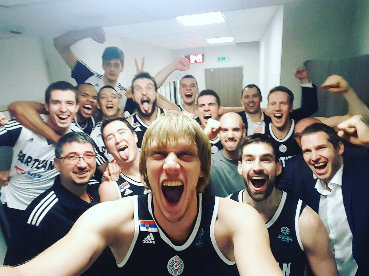 When you go on the road and battle adversity....anything is possible!! ⚫️⚪️ #KKPartizan https://t.co/O4nkw1egod