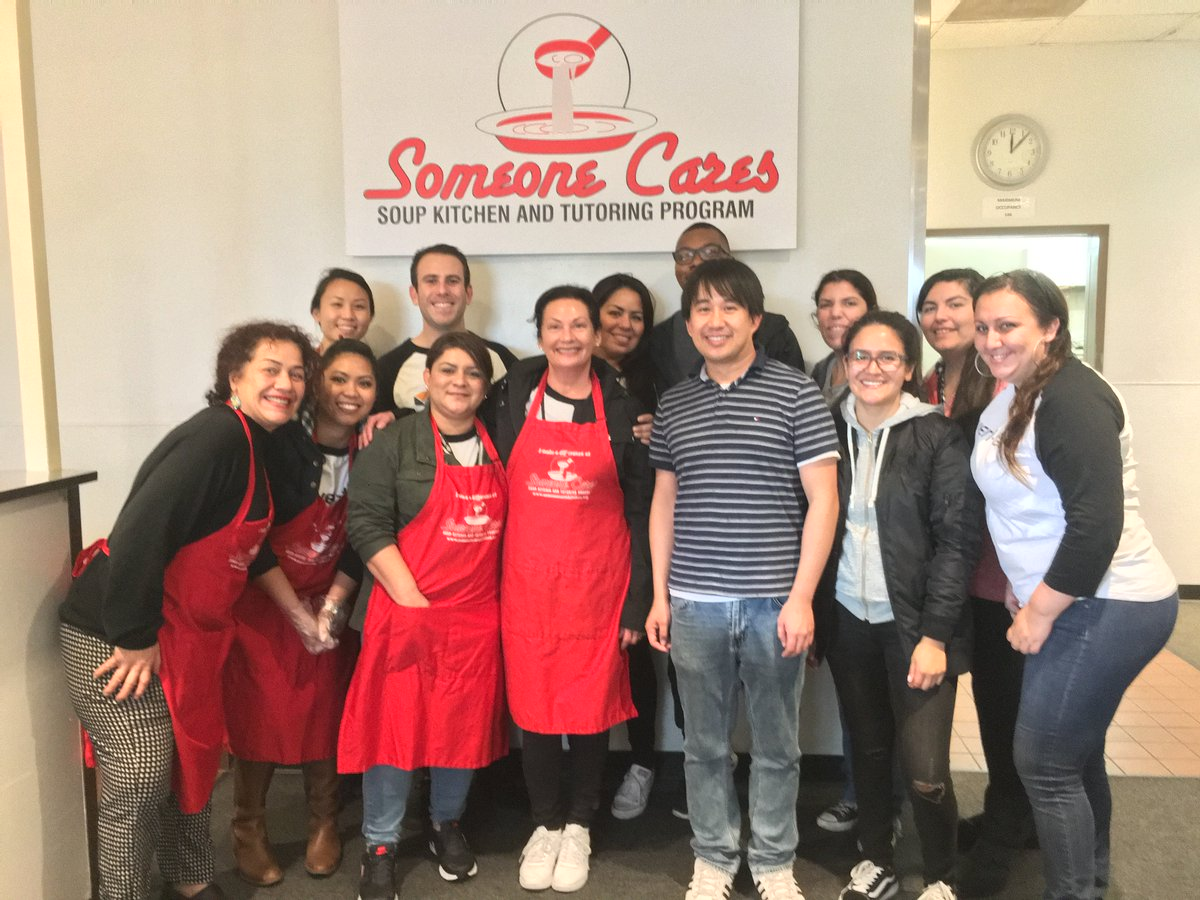 Veri Tax On Twitter Our Team Giving Back At The Someone Cares Soup Kitchen In Costa Mesa
