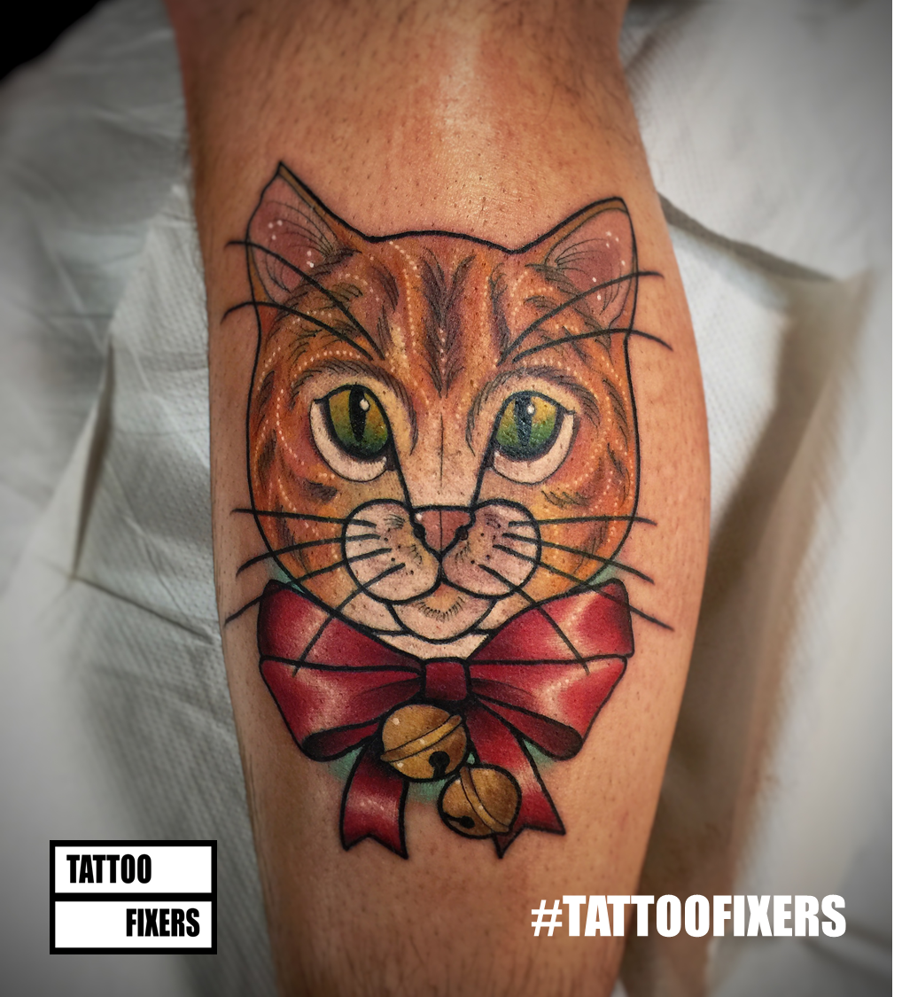 "Tattoo Fixers Extreme On Twitter: ""Owen's Festive"