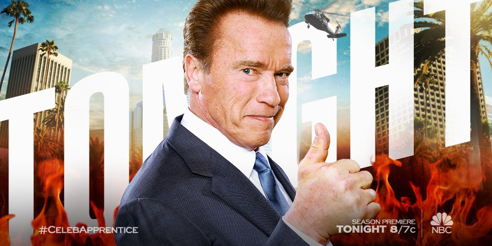 The boardroom is back in business. Get ready for The New #CelebApprentice tonight at 8/7c on @NBC! https://t.co/oeIAu4eXM7