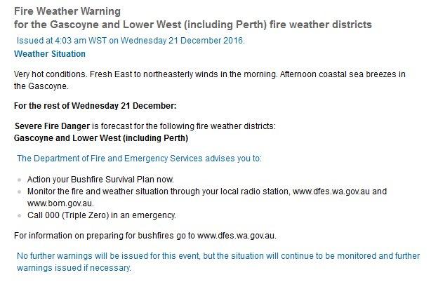 Bureau of Meteorology, Western Australia on Twitter: