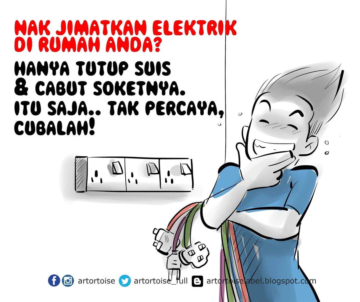 Artortoise On Twitter Tahu Tak Bagaimana Cara Nak Menjimatkan Elektrik Dirumah Tenaga Nasional Tnbmalaysia Https T Co 75cpe4fk5g