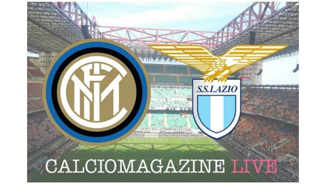 Inter-Lazio Live dalle ore 20.45   http://www. calciomagazine.net/inter-lazio-ri sultato-cronaca-72503.html &nbsp; …  #calcio #live #diretta #risultato #serieA  #cronaca #fantacalcio #InterLazio<br>http://pic.twitter.com/VPoMCFS7hi