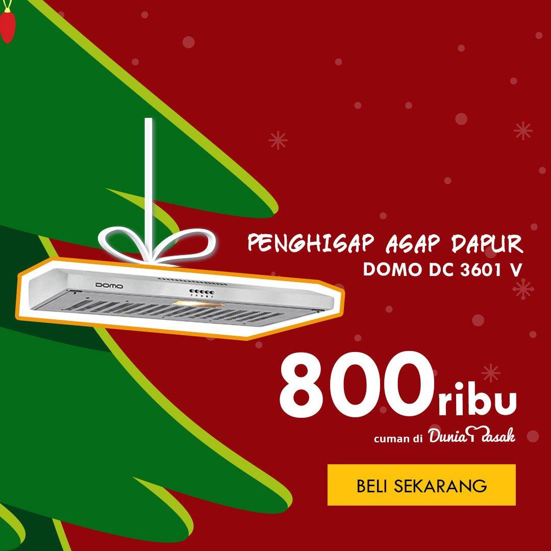 Domo Cooker Hood Dc 3601v Daftar Harga Terlengkap Indonesia Ch 90 Cm Filter Hisap Udara Angin Asap Dapur Wall Tudung Penghisap Garansi 3601 V Silver Slim Pabrik Shopee