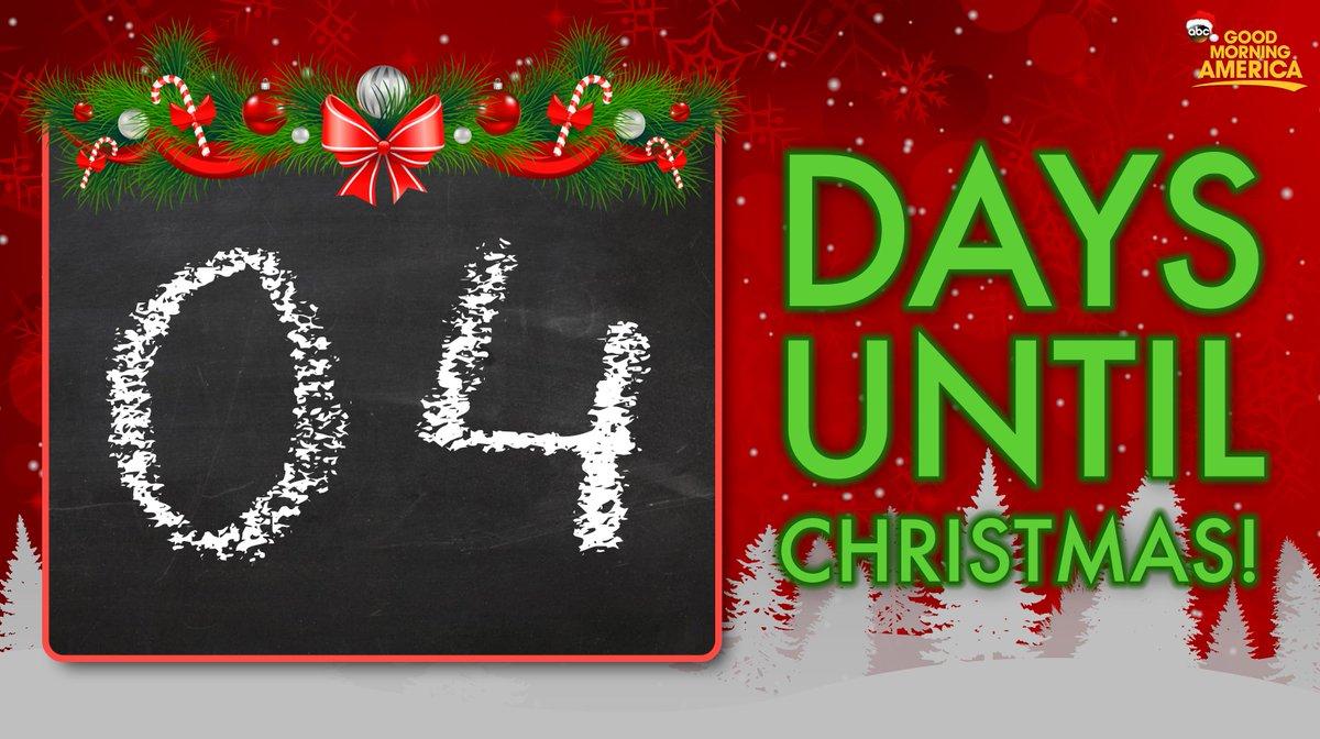 4 DAYS UNTIL CHRISTMAS! 🎄 🎅 ⛄️