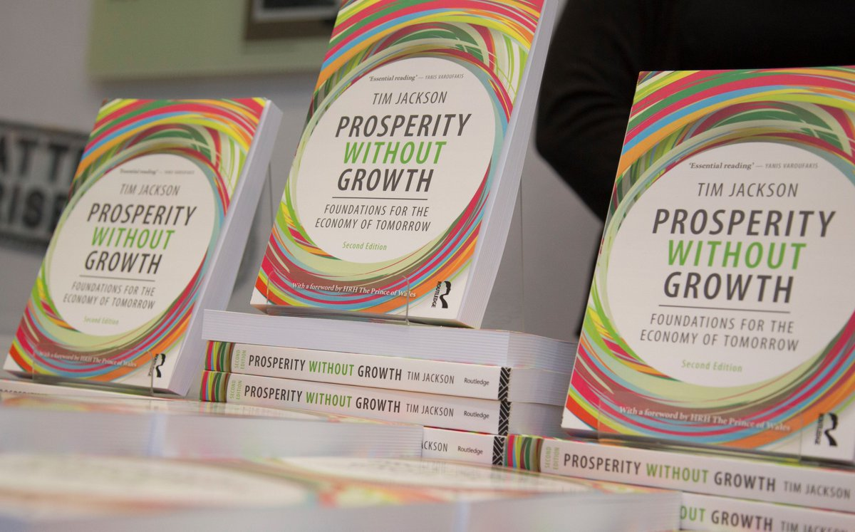prosperity without growth foundations for the economy of tomorrow