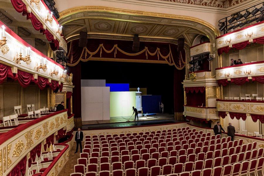 Малый театр фото помещения