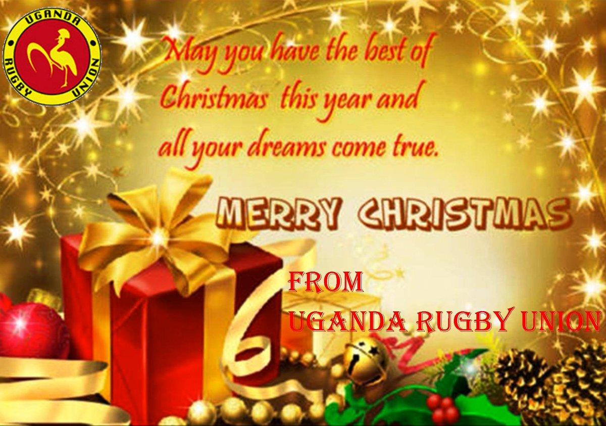 Uganda Rugby Union On Twitter Christmas Greetings From Uganda