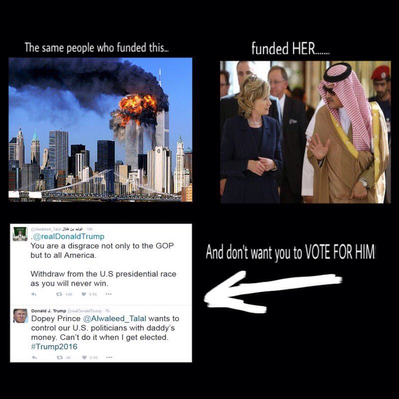 #911 #Clinton #Saudi #Doners #Treason RT @RepStevenSmith The donor list. #OddThingsToBeProudAbout