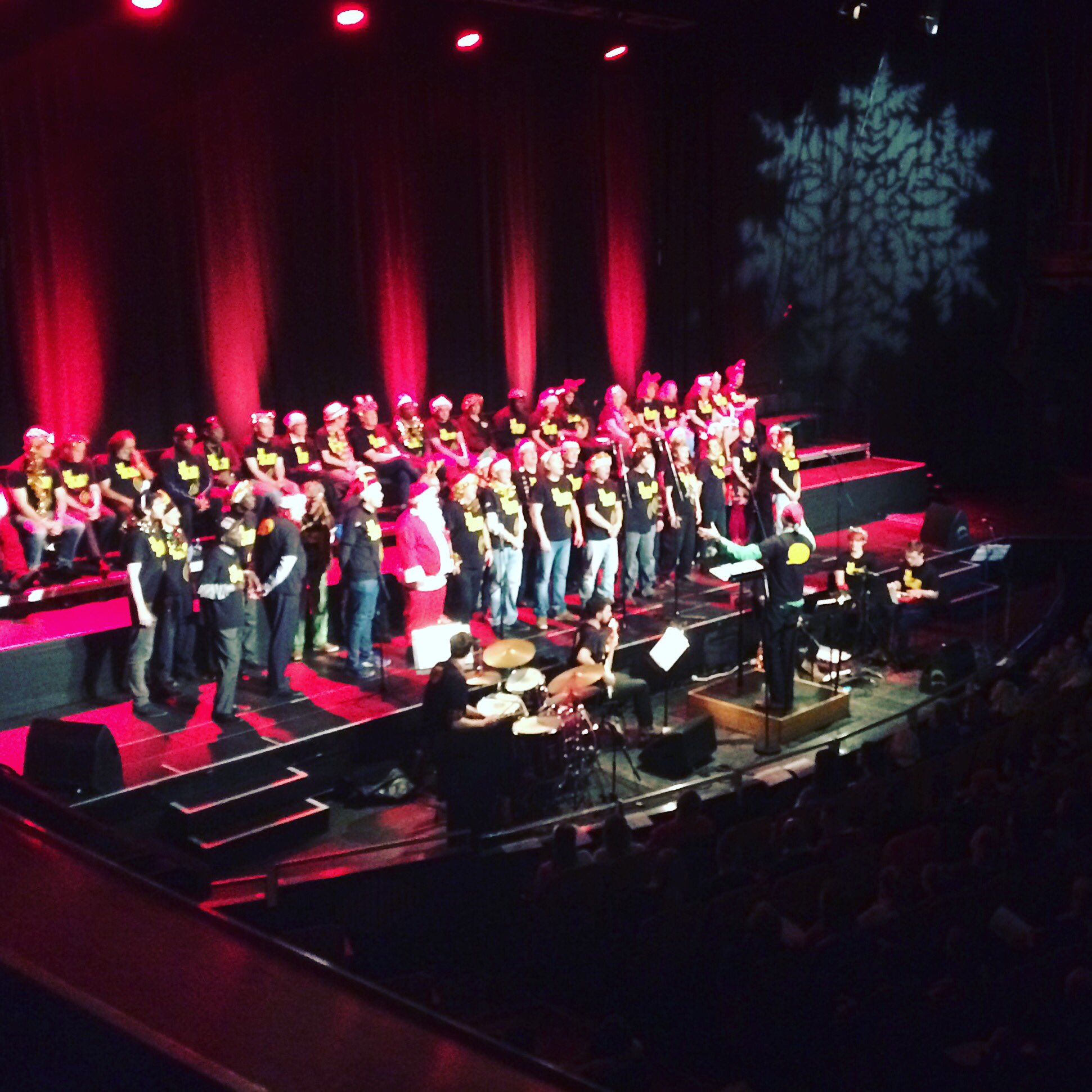 @ChoirwithNoName great gig last night #brighton Dome! Thanks for coming, see you next year? https://t.co/hl3kxtPGDF